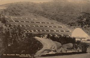 RP: HOLLYWOOD , California , 1940-50s ; Hollywood Bowl from the Rear
