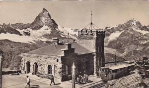 RP, Gornergrat = Station, Zermatt, Valais, Switzerland, 1920-1940s