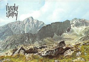 Slovakia Vysoke tatry - Hohe Tatra, High Tatras - Krivan (2494 m) 1977