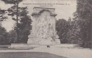 New Jersey Princeton Monument Commemorating Battle Of Princeton Albertype