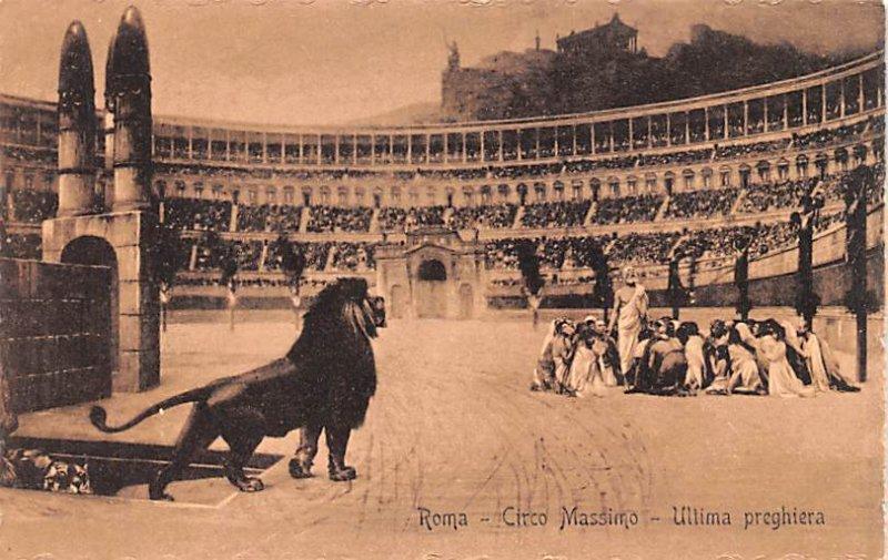 ROma Circo Massimo Italy Unused