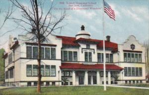 California San Jose Lowell Grammer School 1910