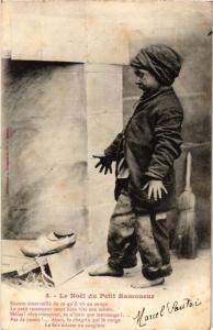 CPA Le Noel du Petit Ramoneur. 5. A. BERGERET (675385)
