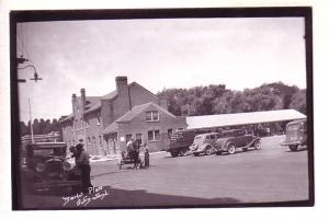 Market Place, Cars, Truck, Owen Sound, Ontario, Real Photo