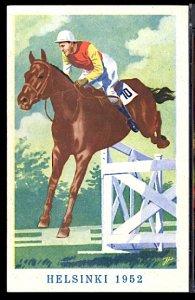 1952 Summer Olympics Helsinki Horse Dressage Jumping