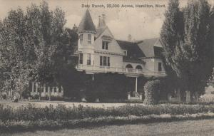HAMILTON , Montana , 1916 ; Daly Ranch