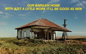 Humor - Our bargain home…