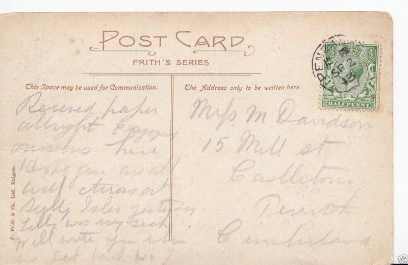 Genealogy Postcard - Family History - Davidson - Castleton - Cumberland GN457