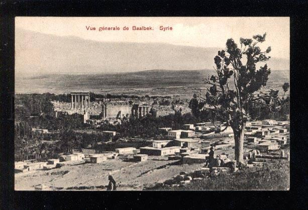 031208 SYRIA BAALBEK general view Vintage PC