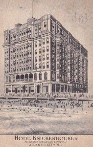 ATLANTIC CITY, New Jersey, PU-1938; Hotel Knickerbocker, Tennessee Avenue And...