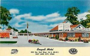 UT, Salt Lake City, Utah, Seagull Motel, Colourpicture  SK6140