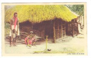 Family Outside Their Home, Trinidad, 1900-1910s