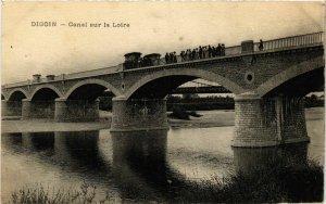 CPA Digoin Canal sur la Loire FRANCE (952843)