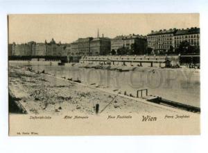 155653 AUSTRIA WIEN Hotel Metropole Vintage postcard