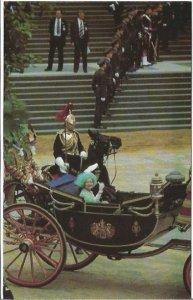 Vintage Postcard Queen Mother After Wedding Prince Andrew London Vintage Postcar
