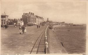 PENZANCE, England, PU-1956; Promenade and Front