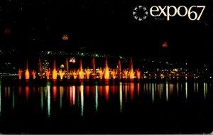 Canada Montreal Expo67 Dancing Waters