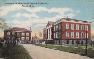 University Of Akron And Chemical Laboratory, AKRON, Ohio, PU-1917