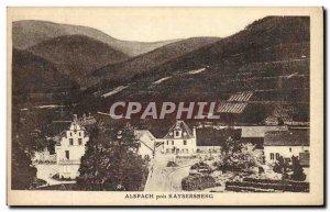 Old Postcard Alspach near Kaysersberg