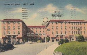 LAUREL, Mississippi, 30-40s ; Pinehurst Hotel