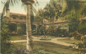 Palm Beach Pennsylvania La Colmena 1920s Albertype hand colored Postcard 21-5814