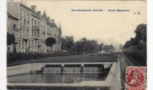 Bruxelles-Quartier Nord-Est., Square Marguerite, Belgium, PU-1907
