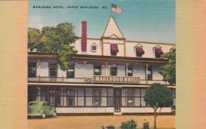 UPPER MARLBORO , Maryland, 1930-40s ; Marlboro Hotel