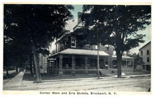 17934  NY Brockport  Corner Main and Erie Streets
