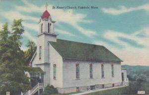 Massachusetts Fiskdale Saint Annes Church