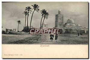 Old Postcard Djerbah