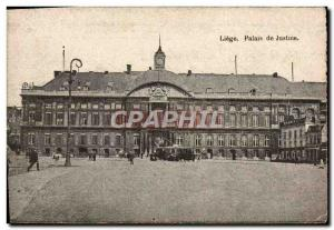 Postcard Liege Old Courthouse