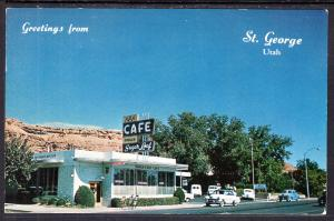 Greetings From St George,UT Sugar Loaf Cafe BIN