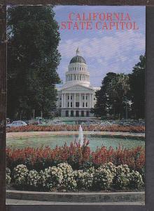 Capitol Sacramento CA Postcard BIN