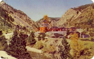 GOLD MINING, camp in the mountains