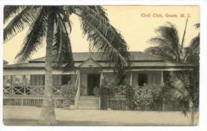 Civil Club, Guam, 1910s