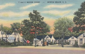 MYRTLE BEACH , South Carolina , 1930-40s ; T and C Motor Court