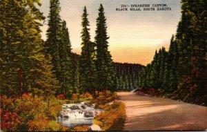 South Dakota Black Hills Spearfish Canyon