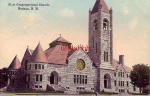 FIRST CONGREGATIONAL CHURCH, NASHUA, NH 1914