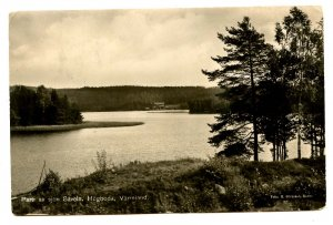 Sweden - Varmland, Hogboda. Saveln Lake