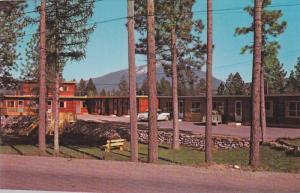 Exterior View, Ponderosa Motel, Mountain Background, Cranbrook, British Colum...