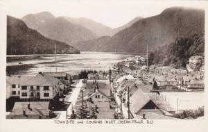 RP: OCEAN FALLS , B.C. , Canada , 30-40s ; Townsite & Cousins Inlet