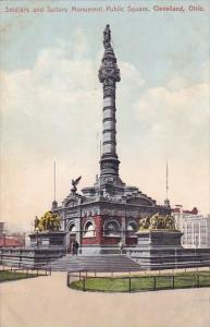 Soldiers And Sailors Monument Public Square Cleveland Ohio