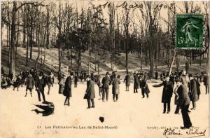 CPA Les Patineurs au Lac de SAINT-MANDE (509451)