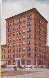 Iowa Cedar Rapids Security Savings Bank Building 1910