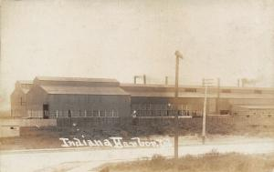 Indiana Harbor IN~Sideview Steel Factory~Standard Forging Co Plant~c1915 RPPC