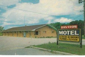 BRAIDWOOD , Illinois , 1950-60s ; RT 66 ; Davito's Motel