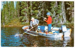 Chibougamau: Anglers' Paradise, Province of  Quebec, Canada, PU-1980