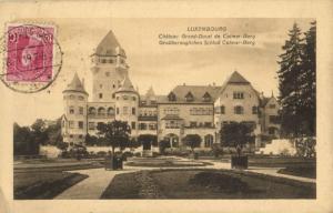 CPA Luxembourg, Chateau Grand - Ducal de Colmar - Berg (30564)