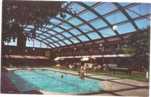 Pool Scene Midway Motor Lodge Appleton Wisconsin WI, 3033 W