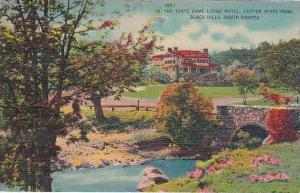 South Dakota Black Hills Game Lodge Hotel Custer State Park